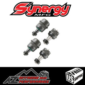 Synergy Mfg Heavy Duty Front Ball Joint Set 2 Upper 2 Lower Jeep Zj 4120