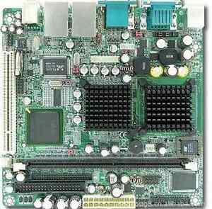 1pc Wade 8041 Embedded Board 17 17 Onboard Cpu Card