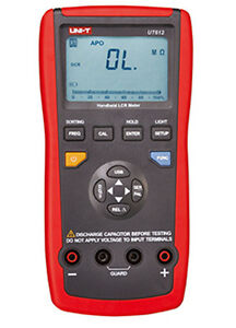 Ut612 Digital Multimeter Lcr Meter Real time Display Test Frequency Ut 612