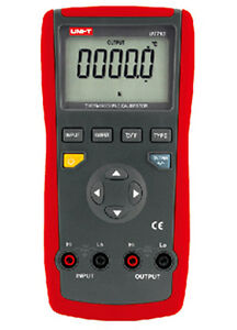 Ut713 Digital Thermocouple Calibrator Usb Interface Auto Power Off Ut 713