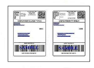 2000 Easy Peel Quality Round Corner 8 5 X 11 Shipping Labels For Usps Ups Paypal
