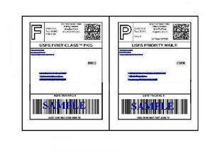 6000 Self Adhesive 8 5 X 11 Shipping Labels For Ups Usps Fedex Paypal Free Ship