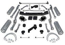 Rubicon Express 4 5 Long Arm Suspension Lift Kit Re7344 Jeep Wrangler Jk 4 Door
