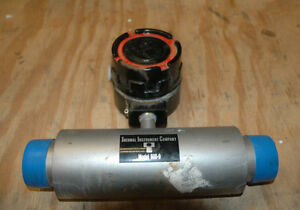 Thermal Instrument Company Inline Flow Meter Model 600 9