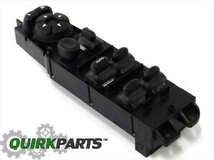 Dodge Durango Ram Dakota 4 door Driver Side Power Window Master Switch New Mopar