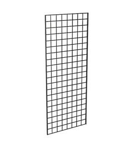 Grid Panel 24 X 60 1 4 Dia Wire 3 X 3 Squares Black Lot Of 3