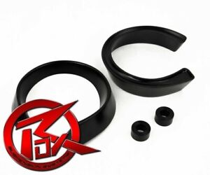 Rox Fits 1984 2003 Dodge D250 2 5 Black Front Coil Spacer Lift Leveling Kit 2wd