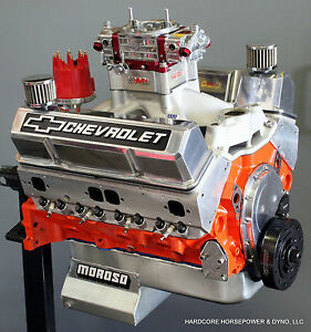 434ci Small Block Chevy Pro Street Engine 663hp Carb D Built To Order Dyno Tune