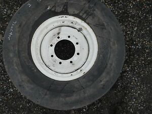 Goodyear 10 00 X 16sl Super Rib Implement Tractor Tire W 8 Lug Rim 8 P r 112