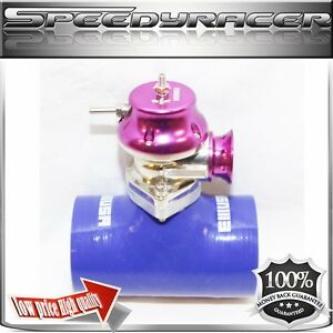 Silicone Type s Turbo Blow Off Valve Bov 3 Adapter Blue Emusa Type Rs Bov