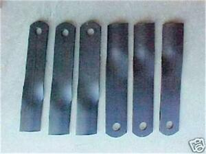 Woods Rm990 Finish Mower Blade Set New Genuine Woods Oem Part 24590kt