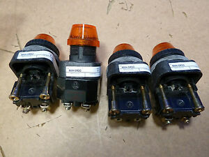 Lot Of 4 Allen bradley 800h sroo Series F 14l