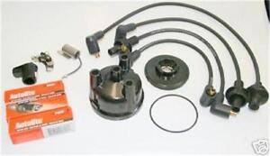 Complete Dist Tune Up Kit For Ford 2000 3000 4000 3cyl Tractor 1965 Thru 1975