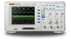 Rigol Ds1102d 100mhz Signal Oscilloscope 16 Channels