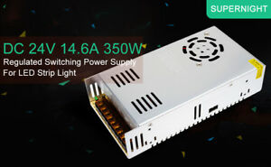 5x Supernight 24v Dc 14 6a 350w Regulated Switching Power Supply