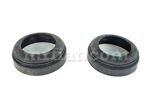 Vespa 400 Shock Top Bearing Outer Cover Set 2 Pcs New
