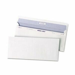 Quality Park Reveal n seal Business Envelope 10 White 500 Per Box qua67218