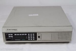 Astro Spectra Re banded 800mhz 35watts Consolete 9600 Baud Model L04ujh9pw7an