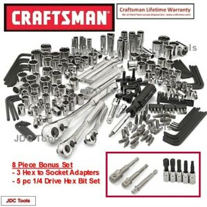 Craftsman Tools 230 Pc Tool Set With 8 Pc Bonus Set Tools Only New 311