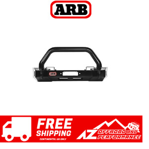 Arb Stubby Bar Front Bumper Textured Black For 07 18 Jeep Wrangler Jk 3450430