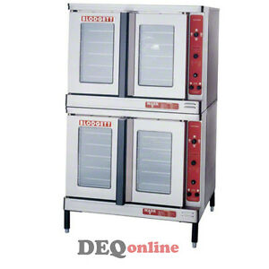 Blodgett Mark V 200 Double Full size Bakery Depth Electric Convection Oven