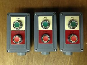 Square D 2 Hole Pushbutton Station 30 Mm With 1 Green And 1 Red Pushbutton