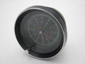 Corvette Restored Original Borg Center Dash Clock Assembly 1965 1967