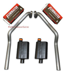 67 81 Chevrolet Camaro 2 5 Mandrel Bent Dual Exhaust Flowmaster Super 44