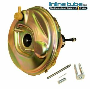 1965 66 Chevrolet Impala Front Power Drum Disc Brake Booster 9 Factory Delco