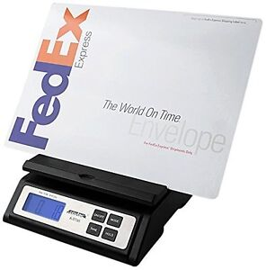 Heavy Duty Postal Shipping Scale Extra Large Digital Display W Ac Up To 85 Lbs