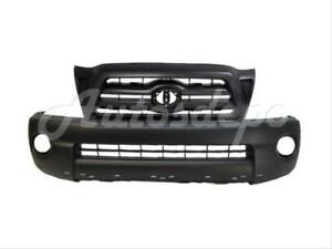 For Toyota 2005 2010 Tacoma X Runner Front Bumper Cover Grille Black 2 Pcs