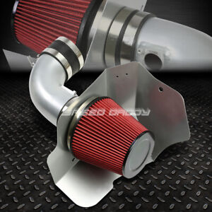 For 09 15 Cts V V8 6 2l Lsa Silver Cold Air Intake Aluminum Pipe Heat Shield Kit