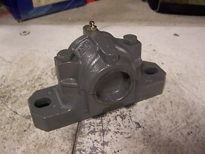New Fag Snv 062 Pillow Block Housing Two Bolt Flange Split Pillow Block