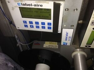 Used Label aire 3138n Tb173 Rh Labeling Machine