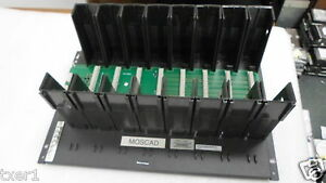 Motorola F6900a Moscad Alarm Monitoring Chassis W 3 Communication Cpu Slots
