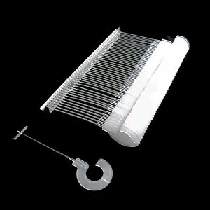 35mm Strong J Hook Fasteners Pin Barbs For For Tagging Tag Gun 1000