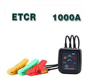 Etcr1000a Non Contact 3 Phase Rotation Tester Indicator Detector Etcr 1000a