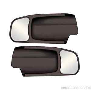 11400 Cipa 2 Black Plastic Custom Towing Mirrors Fits Ram 1500 2500