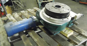 10 Camco 4 Position Index Table W Reducer And Motor 902rdm4h32 330 Used