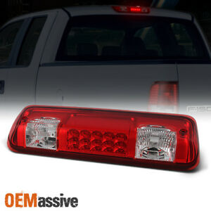 Fit 2004 2008 Ford F150 07 10 Explorer Sport Trac Led 3rd Brake Tail Light Red