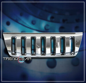 For 99 04 Jeep Grand Cherokee Sport Front Upper Main Grille Grill Abs Chrome