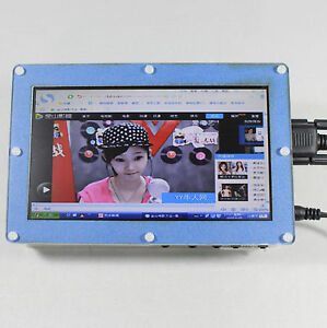 7 Tft Lcd Screen Controller Board With Clear Case For Raspberry Pi B B 2