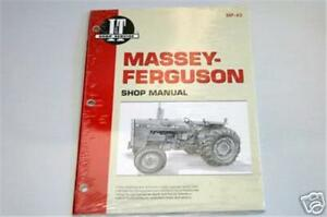 Massey Ferguson 255 265 270 275 290 Tractor I T Shop Repair Manual Mf43