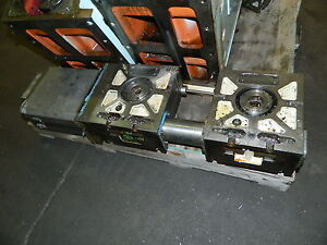 Tsudakoma 8 3 4 Dia Twin Nc Rotary Table Unit Rncv 201r2 Off Matsuura Vmc