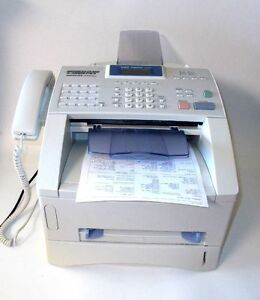Brother Intellifax 4750e Business Class Laser Fax Printer Slightly Used