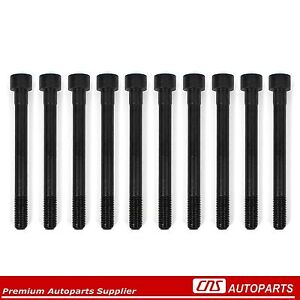 90 94 Mitsubishi Eclipse 1 8l Dodge Plymouth Laser Cylinder Head Bolts Set 4g37