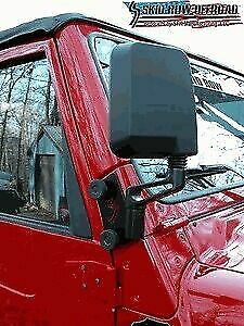 Right Side Quick Release Mirror Relocation Bracket For Jeep Wrangler Tj 97 02