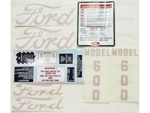 Ford 600 Tractor Decal Set Kit D6005557