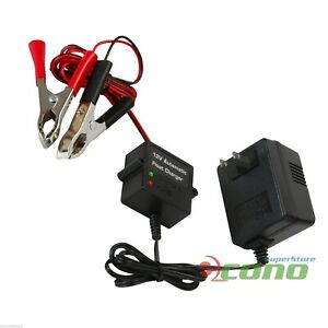 12v Volt Automatic Car Battery Float Trickle Charger Car Boat Direct Ac Charge