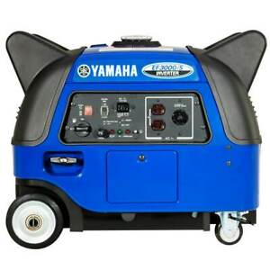 Yamaha Ef3000is 3 000 Watt Gas Powered Portable Rv Power Inverter Generator